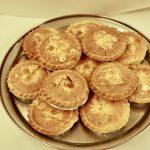 Almond  tarts 65p each
